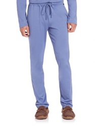 Hanro Cotton Lounge Pants French Blue