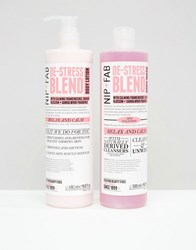 Nip Fab And Asos Exclusive De Stress Duo De Stress Clear