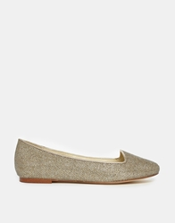 Chocolate Schubar Carita Flat Shoes Silverbell