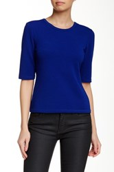 Yoana Baraschi Apollo Knitted Blouse Blue