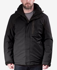 Hawke And Co. Outfitter Outfitters Water Resistant Down Ski Jacket Black