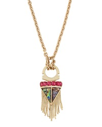 Sam Edelman Mixed Station Drop Necklace