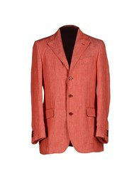 Sotgiustore Nuoro Suits And Jackets Blazers Men Coral