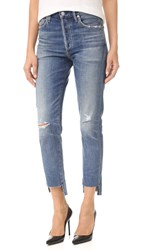 Citizens Of Humanity Liya High Rise Classic Fit Jeans Troublemaker