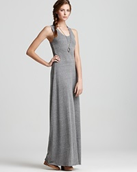 Alternative Apparel Alternative Dress Racerback Maxi Dress Eco Grey