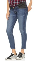 Current Elliott The Maternity Stiletto Jeans Townie