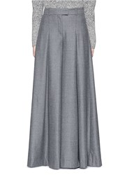 J.Crew Collection Ultra Wide Leg Pant In Italian Wool