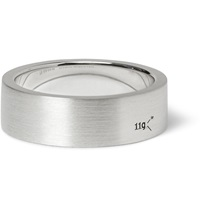 Le Gramme 7Mm Brushed Sterling Silver Ring