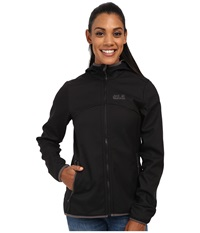 Jack Wolfskin Glacier Valley Ii Jacket Black Women's Coat