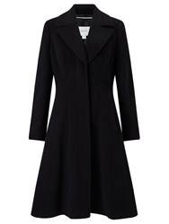 John Lewis Fit And Flare Coat Black