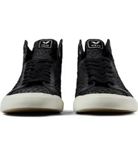 Veja Black Esplar High Top Leather Shoes