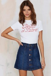 Nasty Gal After Party Vintage Topless And Free Tee