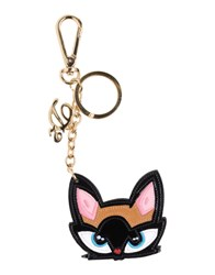 Dsquared2 Small Leather Goods Key Rings Women Black