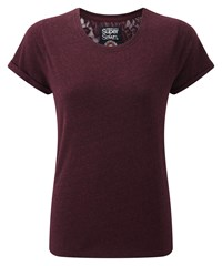 Superdry Super Sewn Rugged Lace T Shirt Red