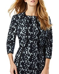 Phase Eight Victoria Lace Jacket Navy