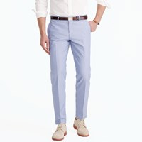 J.Crew Ludlow Suit Pant In Engineer Striped Cotton