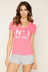 Forever 21 No 1 But You Graphic Pj Top