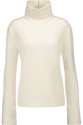 Just Cavalli Knitted Turtleneck Sweater Ivory