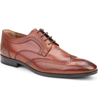 Kurt Geiger Vincenso Leather Brogues Tan