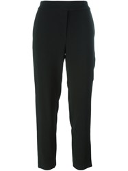 Osman 'Audrey' Cropped Trousers Black