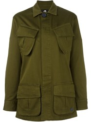 Paul Smith London Military Jacket Green