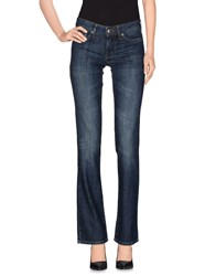 Just Cavalli Denim Denim Trousers Women Blue