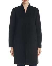 Eileen Fisher Kimono Long Coat Black