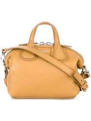 Givenchy Micro 'Nightingale' Tote Yellow And Orange