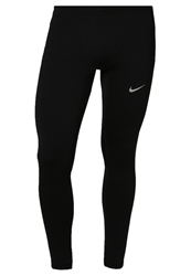 Nike Performance Reflective Tech Running Tights Black Reflective Silver
