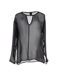 Pinko Black Shirts Blouses Women