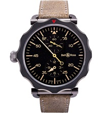 Bell And Ross Black And Steel Ww1 Watch
