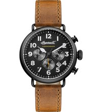 Ingersoll Trenton Quartz Chronograph Watch Black