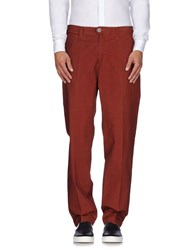 Piombo Trousers Casual Trousers Men Brick Red