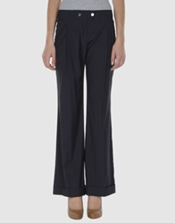 Caractere Casual Pants Dark Blue