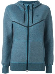 Nike Kim Jones Technical Fleece Hoodie Blue