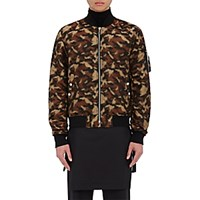 Public School Men's Erek Camouflage Bomber Jacket Tan