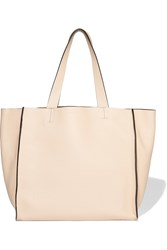 Brunello Cucinelli Textured Leather Tote Nude