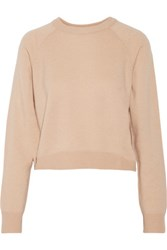 Alexander Wang T By Wool And Cashmere Blend Sweater Peach