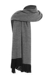 Agnona Wool Scarf Black