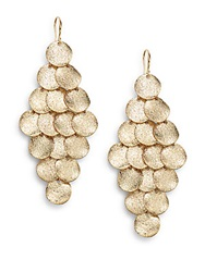 Amrita Singh Mixed Metal Chandelier Drop Earrings Gold