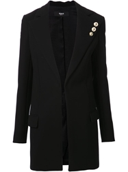 Versus Long Blazer Black