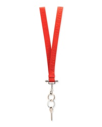 Lanyard Key Ring Necklace Red Givenchy