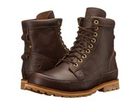 Timberland Earthkeepers Rugged Original Leather 6 Boot Mulch Forty Leather Men's Lace Up Boots Brown