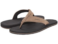 O'neill Nacho Libre Suede Tan Men's Sandals