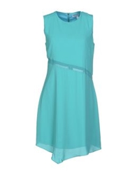 Elizabeth And James Short Dresses Turquoise