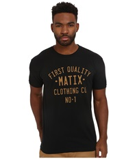 Matix Clothing Company Plates T Shirt Black Men's T Shirt