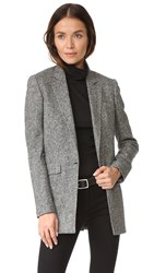 Rag And Bone Ronin Blazer Black White
