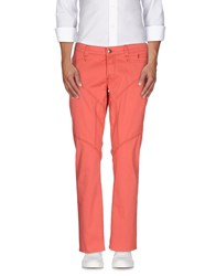 9.2 By Carlo Chionna Trousers Casual Trousers Men Coral