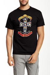 Bravado Guns N Roses Cross Graphic Tee Black