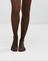 Jonathan Aston 40 Denier Simply Colour Tights Chocolate Brown